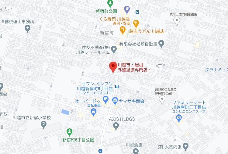 埼玉県エリア地図